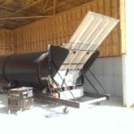 Actium Grande Continuous Composter in dump position